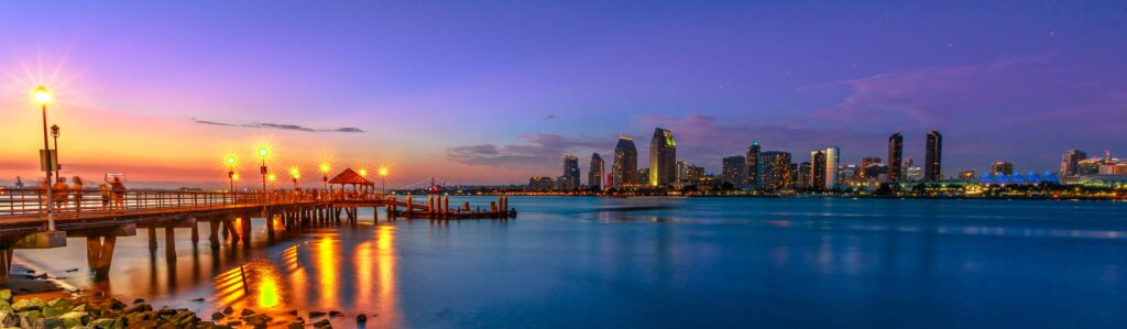 things to do on San Diego with imagery of the shoreline in SD